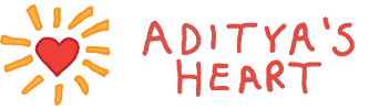 Aditya's Heart Logo